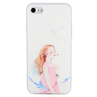 Caz pentru Apple iphone 7 plus 7 acoperă modelul din spate acoperă caz sexy doamnă animal moale tpu 6s plus 6 plus 6s 6