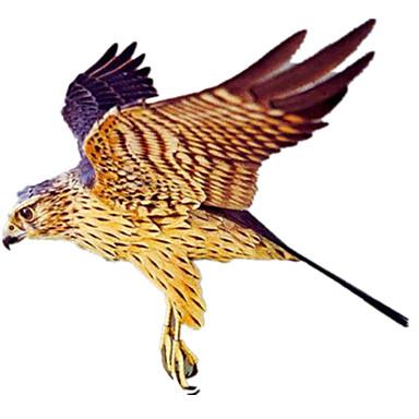3D-puzzels Bouwplaat Papierkunst Modelbouwsets Vogel Eagle Dieren Simulatie DHZ Hard Kaart Paper Klassiek Kinderen Jongens Unisex Geschenk