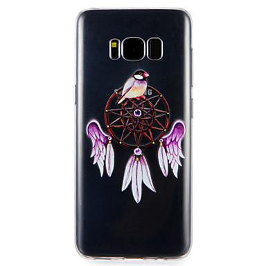Hülle Für Samsung Galaxy S8 Plus S8 Muster Rückseitenabdeckung Tier Blume Weich TPU für S8 Plus S8 S7