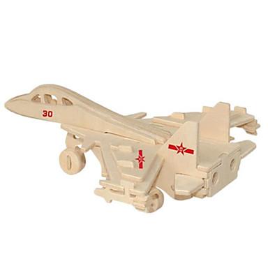 قطع تركيب3D تركيب معدني الخشب نموذج مجموعات البناء ألعاب المقاتل اصنع بنفسك الخشب الطبيعي غير محدد قطع