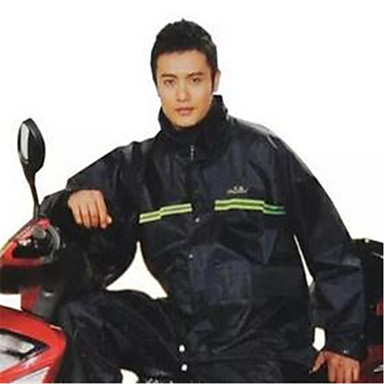 Regenmantel Polyester Umweltfreundliches Material Alles Alle Jahreszeiten Wasserdicht Geruchsfrei Regnerisch Faltbar Motorrad Nierengurte