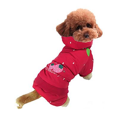 Câine Costume Îmbrăcăminte Câini Fruct Bumbac Costume Pentru animale de companie Bărbați Pentru femei Cosplay