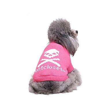 Câine Pulovere Îmbrăcăminte Câini Casul/Zilnic Cranii Costume Pentru animale de companie