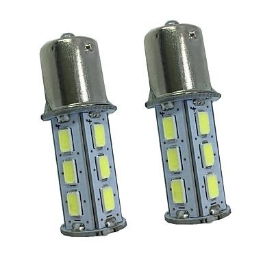 2pcs 5w alb dc12v 1156 1157 18 LED 5730smd auto lămpi auto lumini de semnalizare de înaltă calitate bay15d