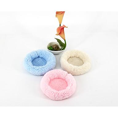 Nagetiere Baumwolle Betten Beige Blau Rosa