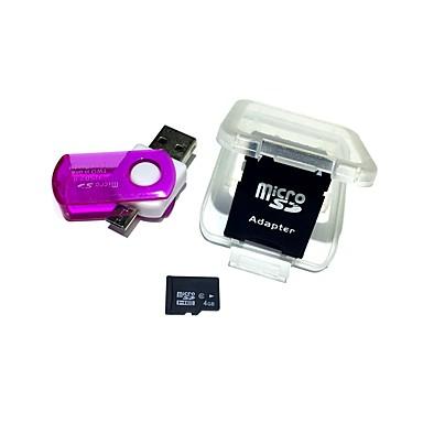 billige Hukommelseskort-Ants 4GB Micro SD kort TF Card hukommelseskort Class6 AntW3-4