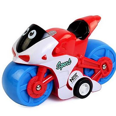 Jucării pentru mașini Jucării Aer Trage înapoi Car / inerțial auto Motocicletă Jucarii Motocicletă Jucarii Plastice Bucăți Ne Specificat
