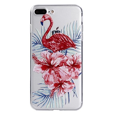 Für Apfel iphone 7plus 7 Telefon Fall tpu Material Flamingo Serie Telefon Fall 6s plus 6plus 6s 6 se 5s 5
