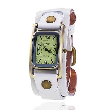 Dames Gesimuleerd Diamant Horloge Unieke creatieve horloge Polshorloge Modieus horloge Vrijetijdshorloge Chinees Kwarts Hot Sale Leer Band