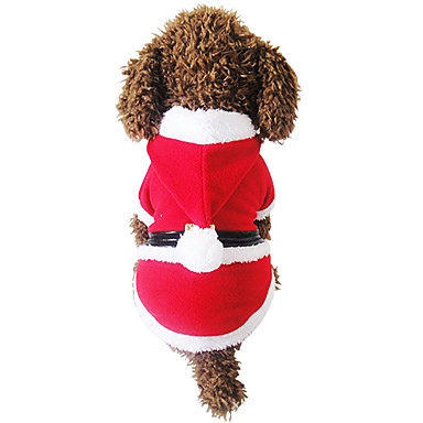 Câine Haine Îmbrăcăminte Câini Crăciun Crăciun Rosu