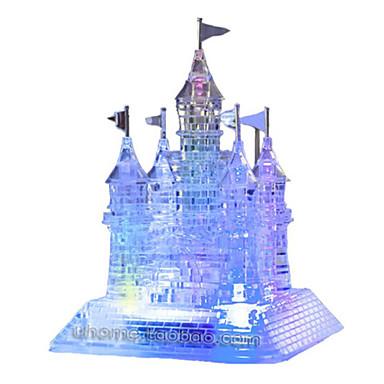 Puzzle 3D Puzzle Puzzle Crystal Jucarii Caini Turn Cai Arhitectură Urs 3D Plastice Unisex Bucăți