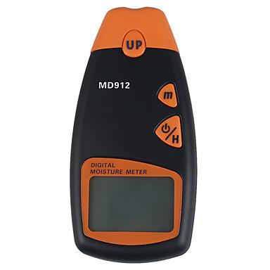 MD912 Digital LCD Umiditatea Meter Lemn Higrometru Tester (2% ~ 60%, 0,5%, 1 * 9V)