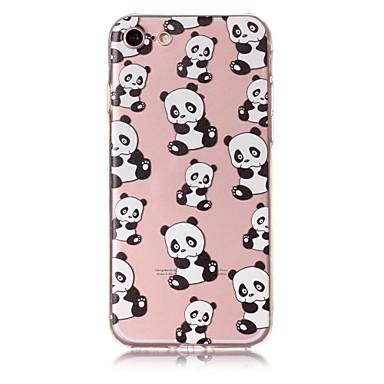 Caz pentru iphone 7 7plus caz coperta panda model tpu material rezistent la zgarieturi relief telefon caz pentru iphone 6s 6 6plus 6s plus