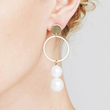 Pentru femei Imitație de Perle Personalizat Γεωμετρικά Sexy Nepotrivirea Bijuterii Statement Euramerican Modă Articole de ceramică Circle