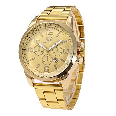 Pentru femei Ceas La Modă Ceas de Mână Unic Creative ceas Ceas Casual Ceas Sport Ceas Militar  Quartz Calendar Oțel inoxidabil Bandă