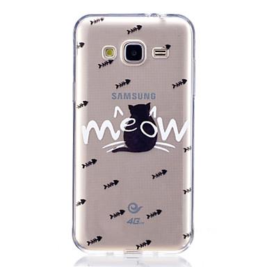 hoesje Voor Samsung Galaxy J7 (2017) J3 (2017) Patroon Achterkantje Kat Zacht TPU voor J7 (2016) J7 Prime J7 (2017) J7 V J5 (2016) J5