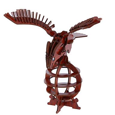 قطع تركيب3D تركيب الخشب نموذج ألعاب دبابة طيارة حيوان 3D خشب الخشب الطبيعي للجنسين قطع