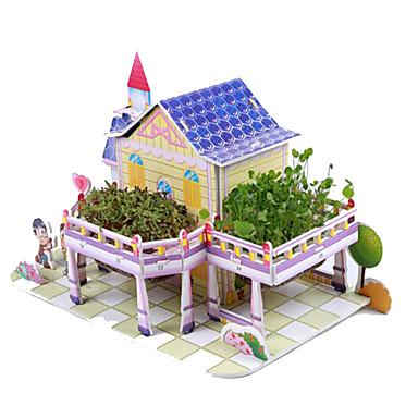 3D - Puzzle Holzpuzzle Architektur 3D Heimwerken Naturholz Unisex Geschenk