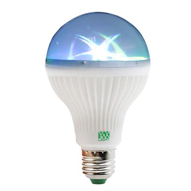 YWXLIGHT® 1W 100-150 lm E27 Bulb LED Glob 6 led-uri SMD RGB AC 85-265V