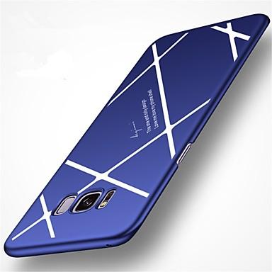 Maska Pentru Samsung Galaxy S8 Plus S8 Mătuit Capac Spate Linii / Valuri Greu PC pentru S8 Plus S8
