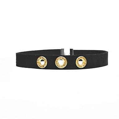 Damen Modisch Halsketten Strass Plüsch Diamantimitate Halsketten . Alltag Normal Strasse