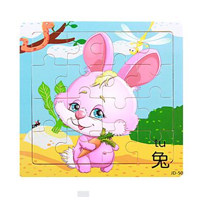 Legpuzzels Houten puzzels Bouw blokken DHZ-speelgoed Rabbit