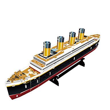 3D - Puzzle Holzpuzzle Spielzeuge Kriegsschiff Schiff 3D Naturholz Unisex Stücke