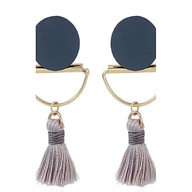 Dames Druppel oorbellen Sieraden Modieus Vintage leuke Style Legering Geometrische vorm Sieraden Voor Feest Avond Feest