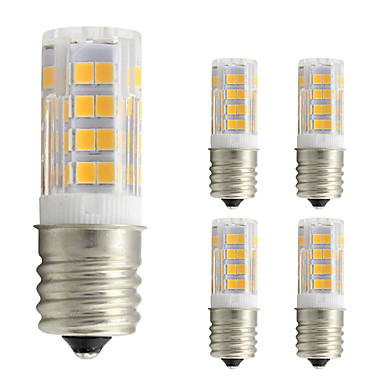 4W 360 lm Becuri LED Corn T 52 led-uri SMD 2835 Alb Cald AC 110V
