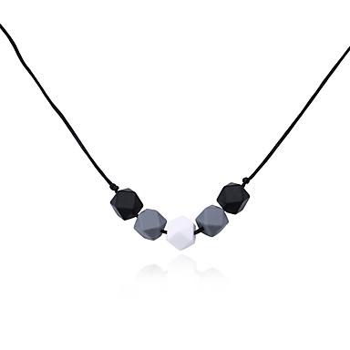 Pentru femei Lux Coliere cu Pandativ - silicagel Lux Multi-moduri Wear Crăciun Geometric Shape Coliere Pentru Crăciun Petrecere Plajă