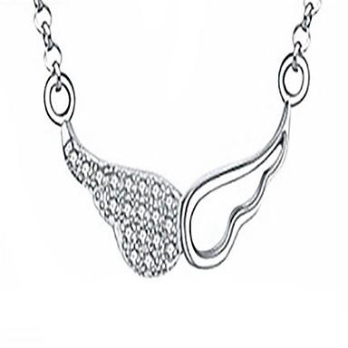 Pentru femei Coliere cu Pandativ Zirconiu Cubic Aripi / Pene Aliaj La modă Personalizat Supradimensionat Bijuterii PentruNuntă Petrecere