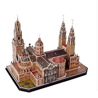Puzzle 3D Puzzle Clădire celebru Lemn natural Unisex Cadou