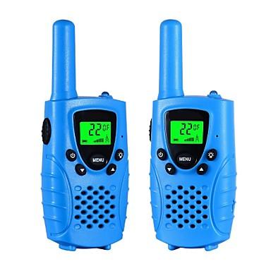 Walkie Talkies pentru copii 22 canale micro usb de încărcare 2 mod radio 3 mile (până la 5 mile) frs / gmrs handheld mini walkie talkies