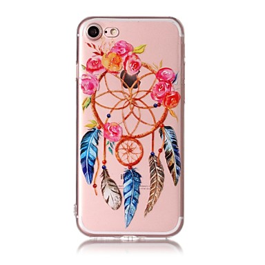 hoesje Voor Apple Patroon Achterkantje Dromenvanger Zacht TPU voor iPhone 7 Plus iPhone 7 iPhone 6s Plus iPhone 6 Plus iPhone 6s Iphone 6