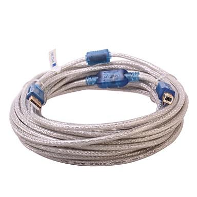 USB 2.0 Cablu, USB 2.0 to USB tip B Cablu Bărbați-Bărbați 10.0M (30ft)