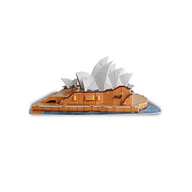 3D-puzzels Modelbouwsets Beroemd gebouw Sydney Opera House EPS+EPU Unisex Geschenk