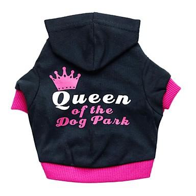 كلب هوديس ملابس الكلاب متنفس كاجوال/يومي حرف وعدد كوستيوم للحيوانات الأليفة