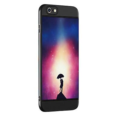 Caz pentru Apple iPhone 7 7 plus caz acoperă model de cuplu de îngroșare tpu material spray telefon caz pentru iphone 6 6s 6 plus 6s plus