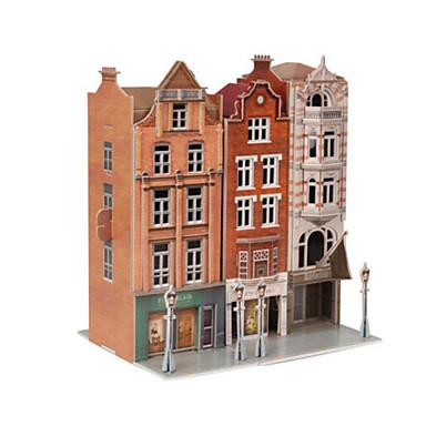 Puzzle 3D Puzzle Modelul de hârtie Jucarii Clădire celebru Arhitectură 3D Articole de mobilier Lemn natural Unisex Bucăți