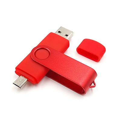 Ants 8GB Flash Drive USB usb disc USB 2.0 Micro USB Plastic MetalPistol