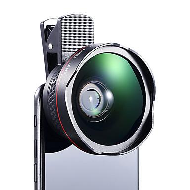 Cherllo 026 lentilă de telefon cu unghi larg obiectiv macro obiectiv aluminiu 12.5x 56mm telefon mobil camera lentile kit pentru Samsung