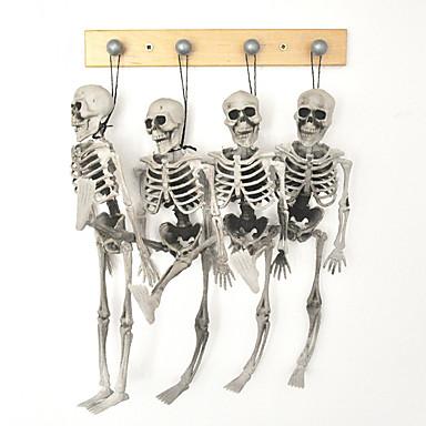 1pc copii de schelet de Halloween dimensiunea agățat popi bântuit decorare casa craniu schelet model oase
