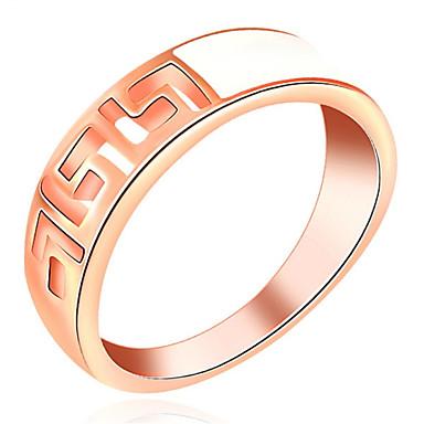للمرأة خواتم حزام تصميم بسيط حب مثير موضة شخصية اسلوب لطيف المجوهرات الفاخرة كلاسيكي أنيقة سبيكة Geometric Shape مجوهرات من أجل زفاف حزب