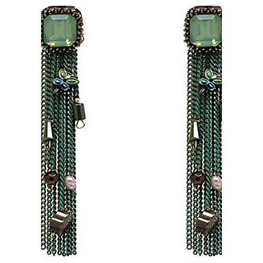 Dames Druppel oorbellen PERSGepersonaliseerd Oversized Legering Bloemvorm Vlinder Sieraden Voor Anders >> Toneel Uitgaan