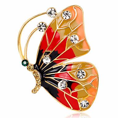 Pentru femei Broșe Ștras Design Basic La modă Vintage Personalizat bijuterii de lux stil minimalist Clasic Elegant Cristal Diamante