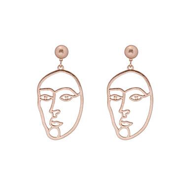 Damen Tropfen-Ohrringe - Personalisiert Hip-Hop Modisch Punk Gold Ohrringe Für Hochzeit Party Abschluss Sonstiges Geschenk Alltag Normal