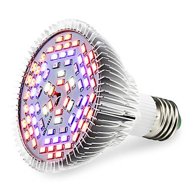 1pc 1290 lm E27 LED Büyüyen Işıklar 78 led SMD 5730 Sıcak Beyaz Kırmızı Mavi UV (Siyah Işık) AC 85-265V