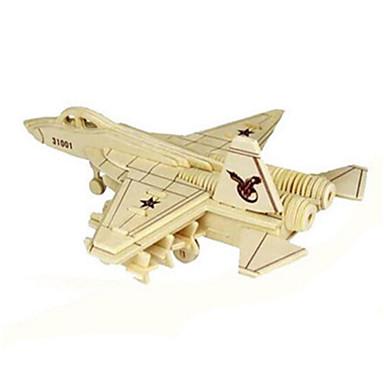 DHZ-kit 3D-puzzels Legpuzzel Speeltjes Tank Vliegtuig Vechter 3D Unisex Stuks