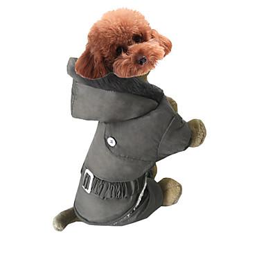 Hund Kapuzenshirts Hundekleidung Lässig/Alltäglich Solide Grau Rot Rosa Kostüm Für Haustiere