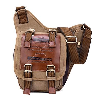 6.5 L 어깨에 매는 가방 슬링 & 메신저 백 캠핑 & 하이킹 빠른 드라이 착용 가능한 캔버스